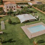 Mas Montbrió Belvedere vista aerea