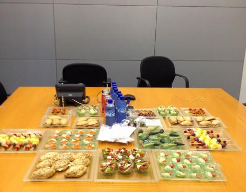 catering para reuniones de empresa
