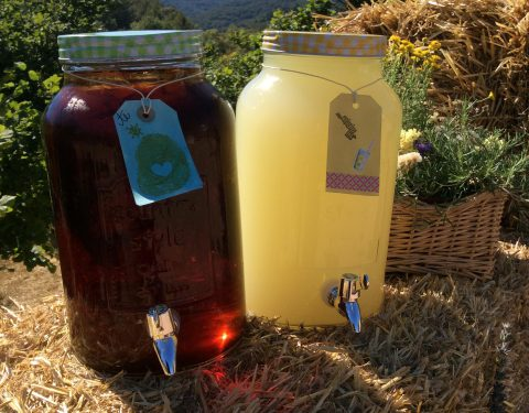 barril de te y limonada mallol catering