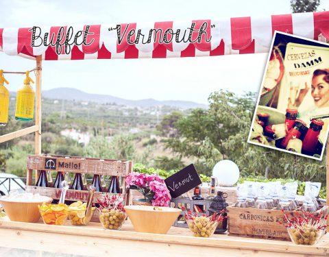 paradita buffet vermouth mallol catering