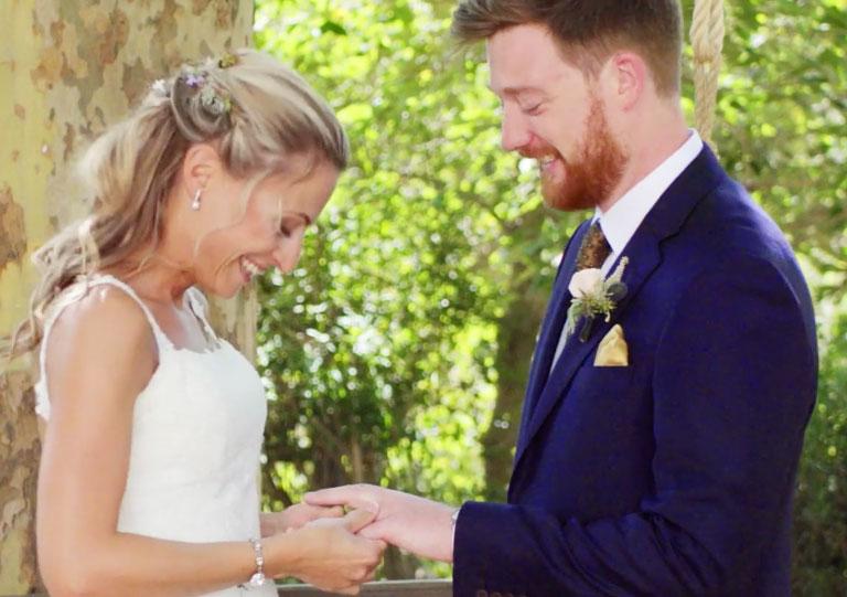 boda de Ester y James