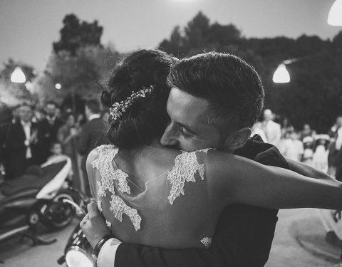 momento magico abrazo boda